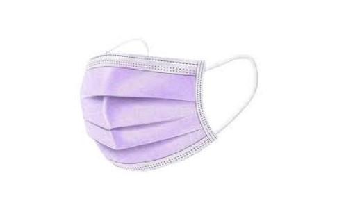 mascarilla violeta